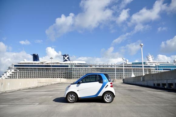 Car2Go Miami, my EXCLUSIVE sponsor during Art Basel week 12/3-12/9/2012