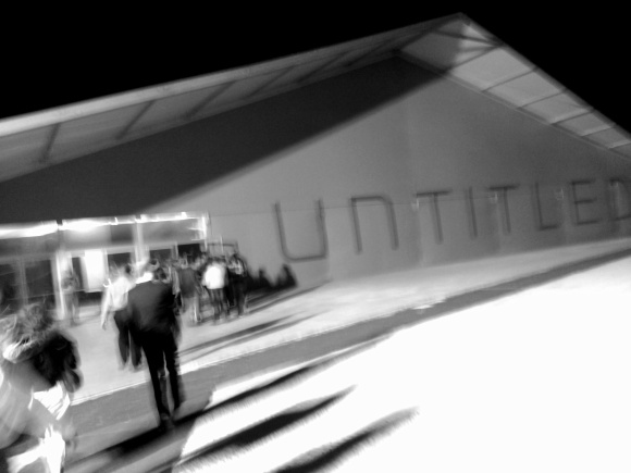 Untitled Exhibition opening on Miami Beach