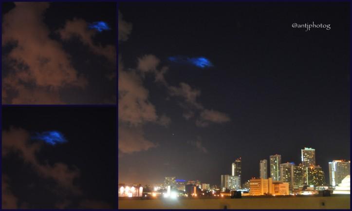 UFO or Rocket Launch?