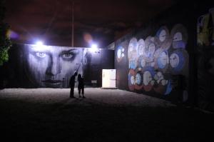The reverse of Brisky Gallery, Wynwood (Miami,FL).