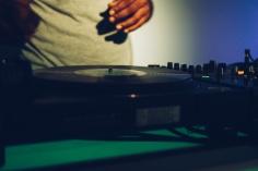 DJ on deck.